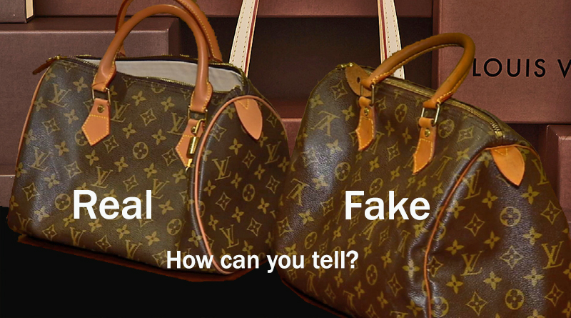 Louis Vuitton Real and Fake Handbag