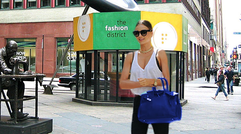 Woman Walking with Hermes Birkin bag